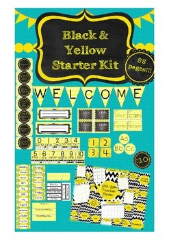UPDATED!!! Black and Yellow Starter Kit with Ultimate Teac