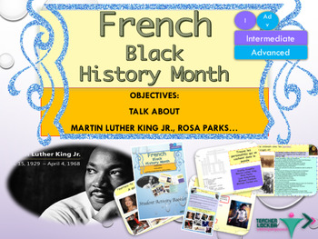 French Black History Month, Martin Luther King Jr. Day ful