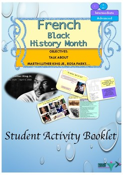 French Black History Month booklet