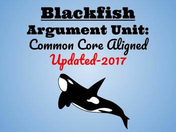 Blackfish Unit-Common Core Aligned!