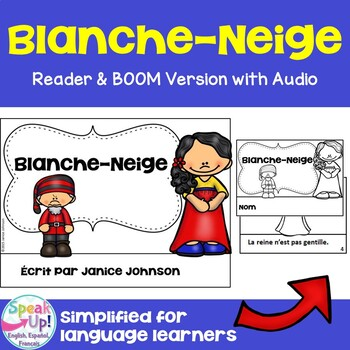 Blanche-Neige French Snow White Reader ~Simplified for Lan