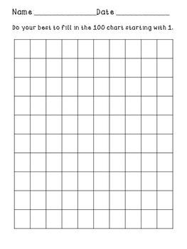 Blank 100 Chart