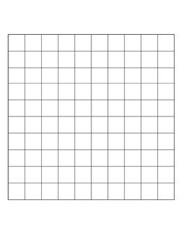 Blank 100s chart