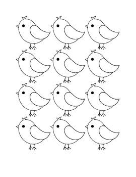 Blank Bird Clip-Art