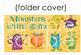 Blank Board Games - Monsters (File Folder Games)