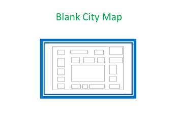 Blank City Map