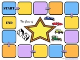 Blank Game Board Template (Customize for Games, Activities