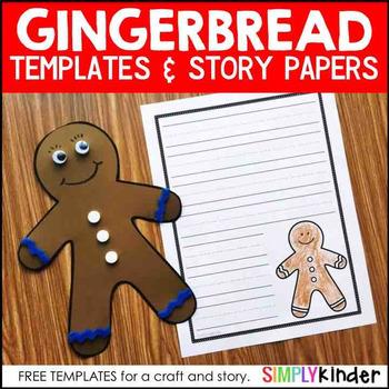 Blank Gingerbread Templates - Gingerbread Exchange