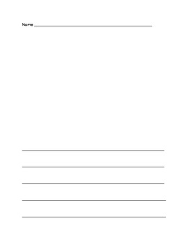 Blank Journal Page
