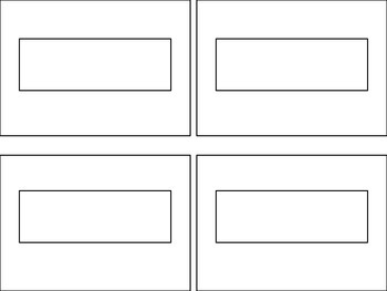 Blank Label Template