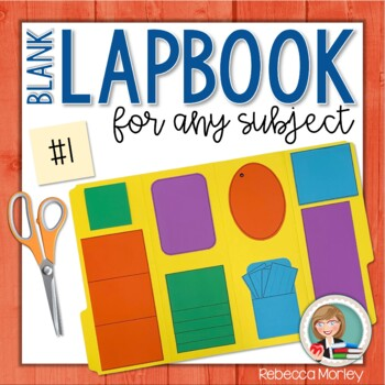 Blank Lapbook #1 (For Any Subject)