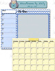 Blank Monthly Calendar and Weekly To-Do Form