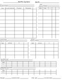 Blank Monthly IEP data