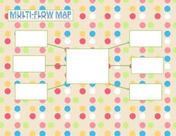 Blank Multi Flow Map
