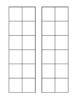 Blank Patterning Sheet 2