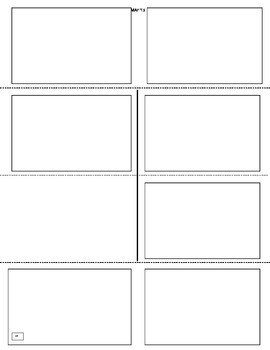 Blank Pushbook Template