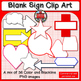 Blank Sign shapes