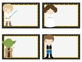 Blank Star Wars Classroom Labels