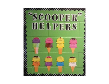 "Blank Student Scoops for ""Scooper Helpers"""