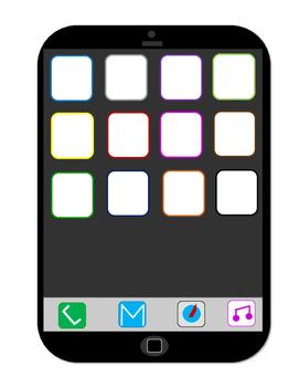 Blank iPhone Template