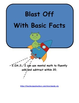 Blast Off with Basic Facts---2.OA.2