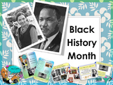 Black History Month and Martin Luther Jr. day full lesson