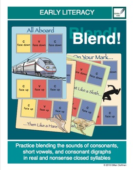 Blend! Closed Syllables (3 sounds)