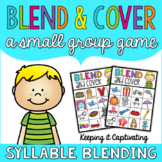 Blend & Cover {Syllable Blending}