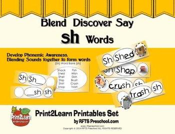 Blend-Discover-Say [sh] Digraphs