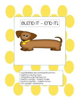 Blend It - End It! - An activity for consonant blends