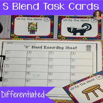 """Blend Task Cards (""""S"""" Blend)"""