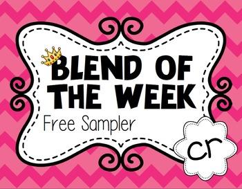 Blend of the Week - cr - Free Sampler