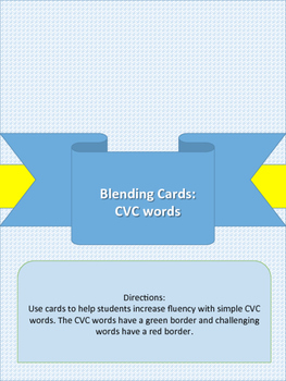 Blending with CVC Cards