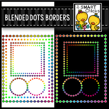 Blended Dots Borders