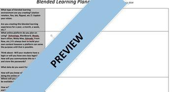 Blended Learning Planning Guide
