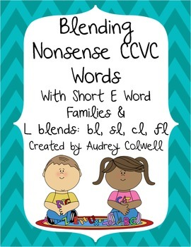 Blending CCVC Nonsense Words
