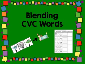 Blending CVC Words