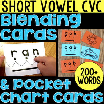 Blending Cards for CVC Words