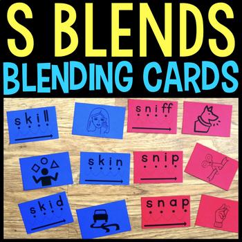 Blending Cards for S Blends & Clusters