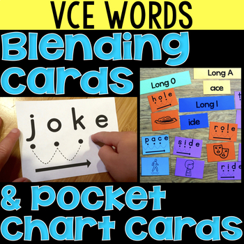 Blending Cards for VCE Words