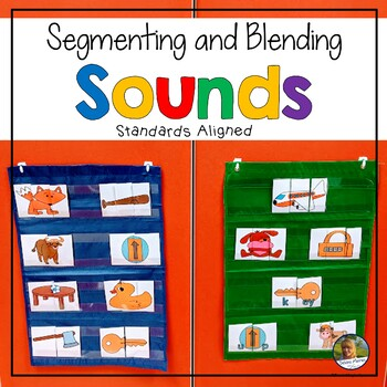 Segmenting (Phonemic Awareness) Puzzles  for Kinesthetic Learners