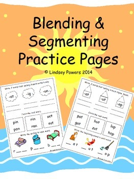 Blending & Segmenting Practice Pages