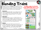 Blending Sounds FREEBIE ~ Blending Trains ~ Word Reading ~