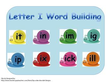 Blending and Building Short I Words