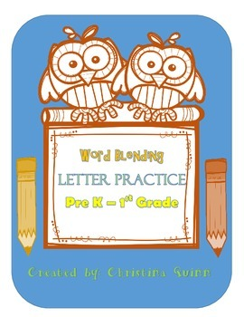 Blending and letter practice activities