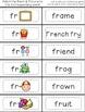 Blending with Consonant Blends { R BLENDS: br, cr, dr, fr,