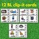 Blends Clip Cards Bundle : Blends Activities