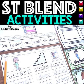 Blends: ST Blend Activities