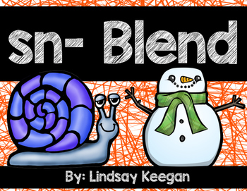 Blends: SN Blend Activities