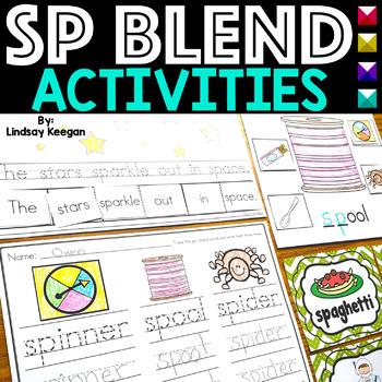 Blends: SP Blend Activities